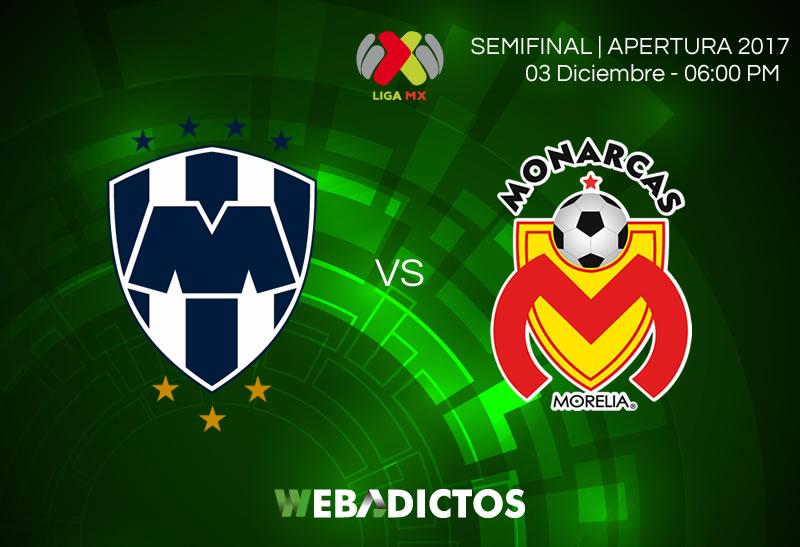 monterrey vs morelia semifinal apertura 2017 800x547 Monterrey vs Morelia, Semifinal Apertura 2017 | Resultado: 4 0