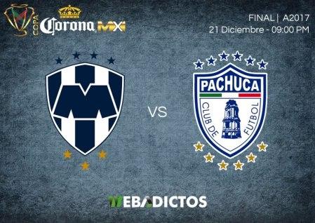 Monterrey vs Pachuca, Final Copa MX A2017   Resultado: 1-0