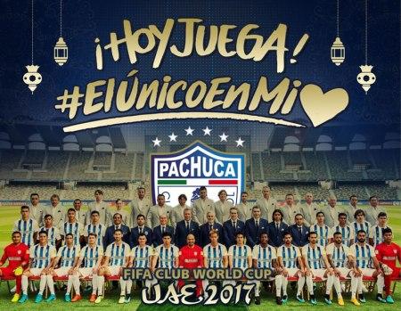 Pachuca vs Wydad, Mundial Clubes 2017 | Resultado: 1-0