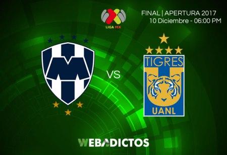 Monterrey vs Tigres, Final del Apertura 2017 | Resultado: 1-2 ¡Tigres es campeón!