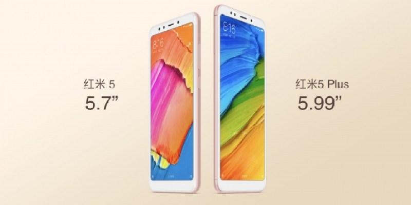 Los nuevos Xiaomi Redmi 5 ofrecen diseño todo pantalla sin quebrar tu bolsillo - redmi-5-family-hero