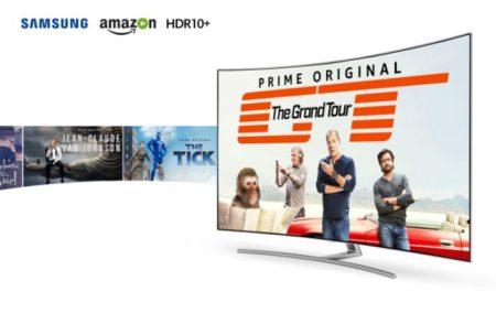 Samsung y Amazon Prime Video, los primeros en lanzar contenido HDR10+