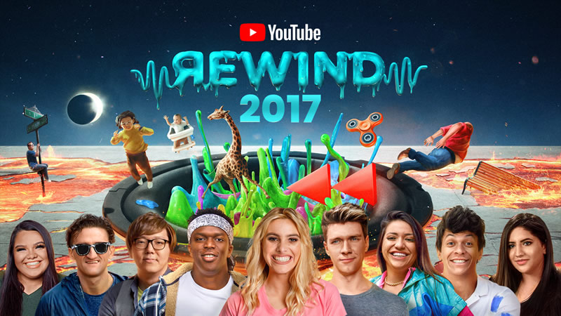 videos mas vistos youtube rewind 2017 800x450 Los videos más vistos de 2017 en YouTube: YouTube Rewind 2017