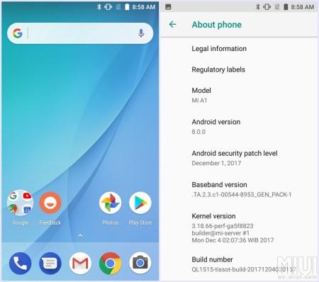 Xiaomi está reclutando a usuarios del Mi A1 para probar la actualización a Android Oreo 8.0