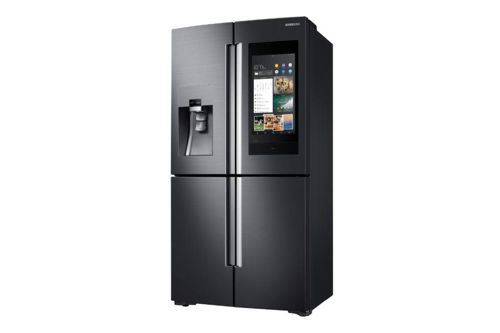 CES 2018: Samsung presenta su nueva generación del refrigerador inteligente - 2018-family-hub_samsung