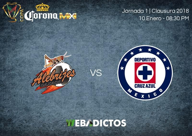 Alebrijes vs Cruz Azul, Jornada 1 Copa MX C2018 ¡En vivo por internet! - alebrijes-vs-cruz-azul-copa-mx-clausura-2018-800x566
