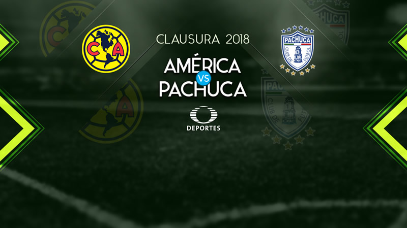 América vs Pachuca, Jornada 2 Clausura 2018 | Resultado: 2-2 - america-vs-pachuca-televisa-deportes-clausura-2018-j2-800x449