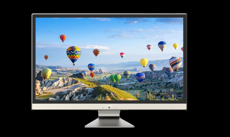 ASUS presenta nuevas computadoras portátiles y AiO en el CES 2018 - asus-vivo-aio-v272-800x479