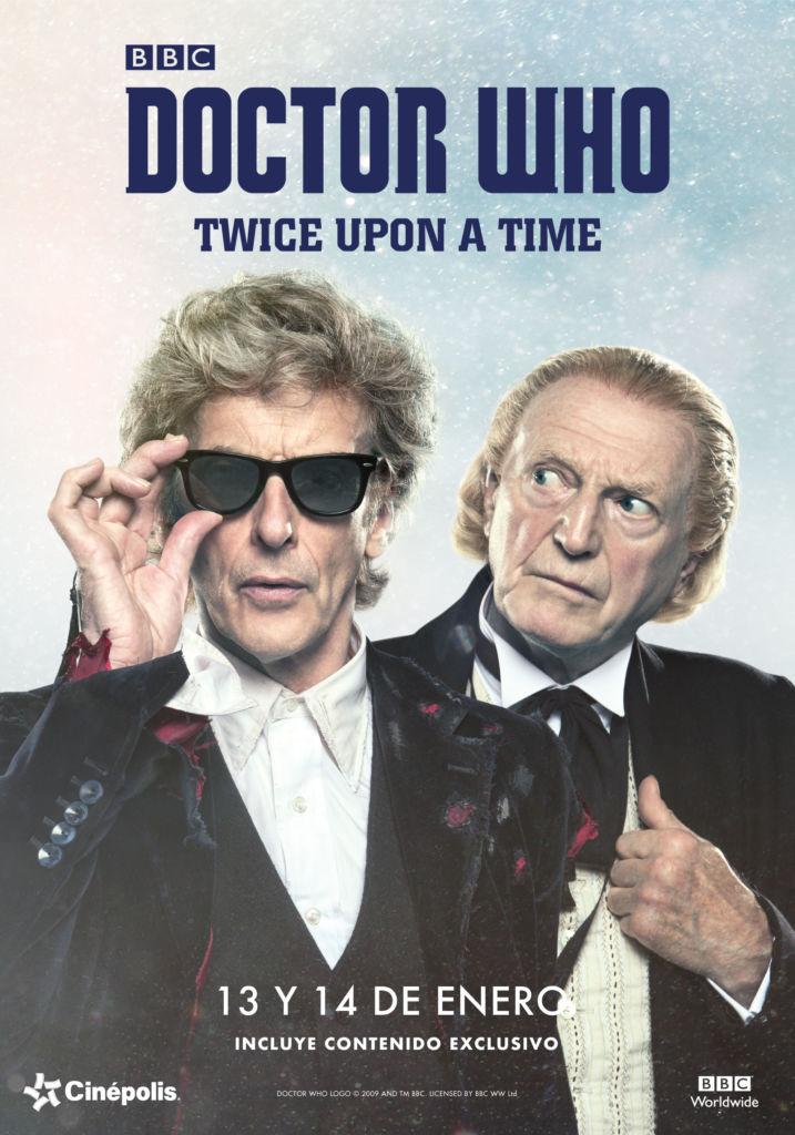 "Cinépolis presentará el especial de Doctor Who ""Twice Upon a Time"" - doctor-who"