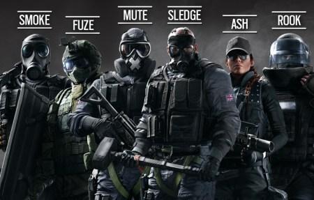 Ubisoft releva las ediciones especiales de Rainbow Six Siege