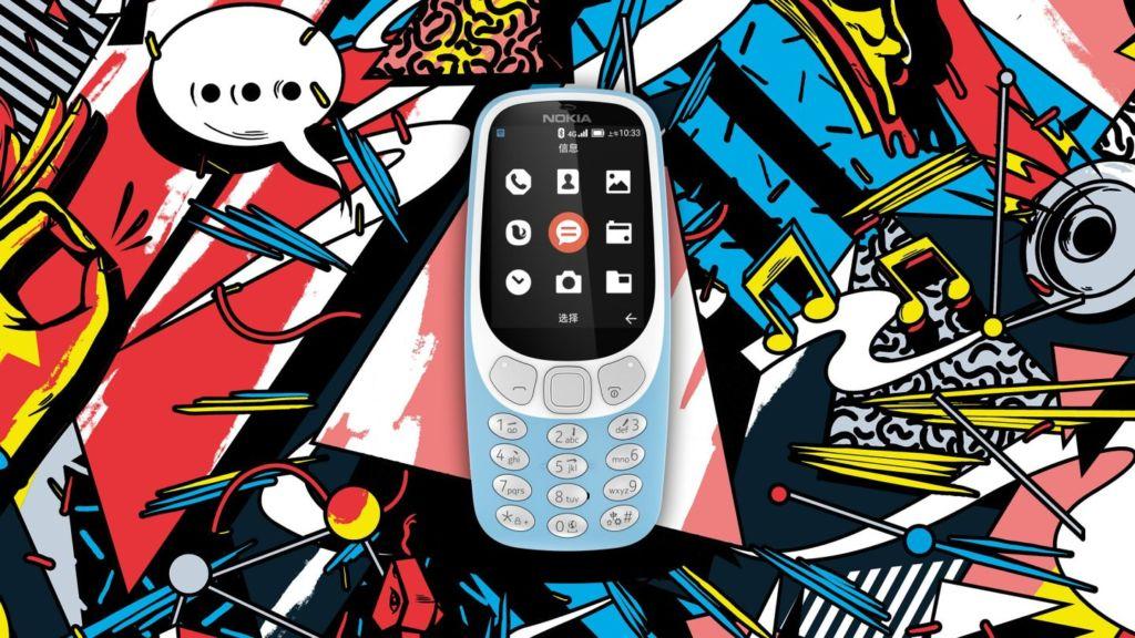 El Nokia 3310 con 4G ya es oficial en China - nokia-3310-hero-blue