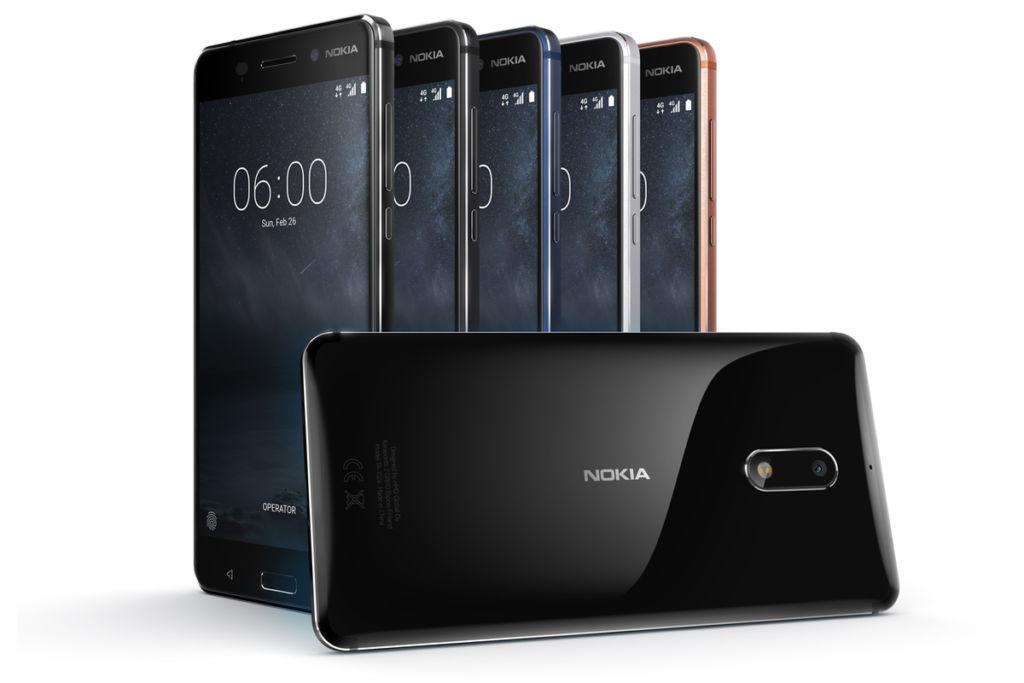 El Nokia 6 (2017) ya está recibiendo Android Oreo 8.0 estable - nokia-6-hero-image-colors