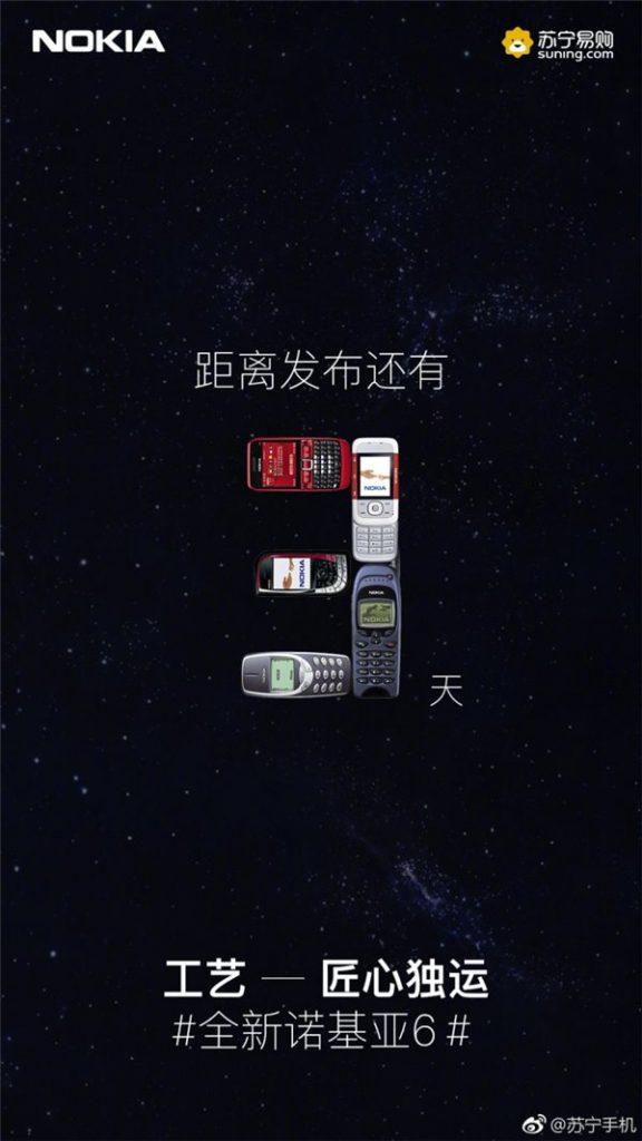 HMD Global presentará la segunda generación del Nokia 6 esta semana - nokia6-218-promo
