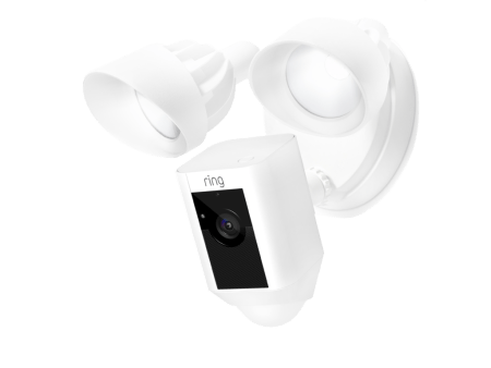 Floodlight Cam de Ring ¡Ya disponible en México! - ring-floodlight-cam-white