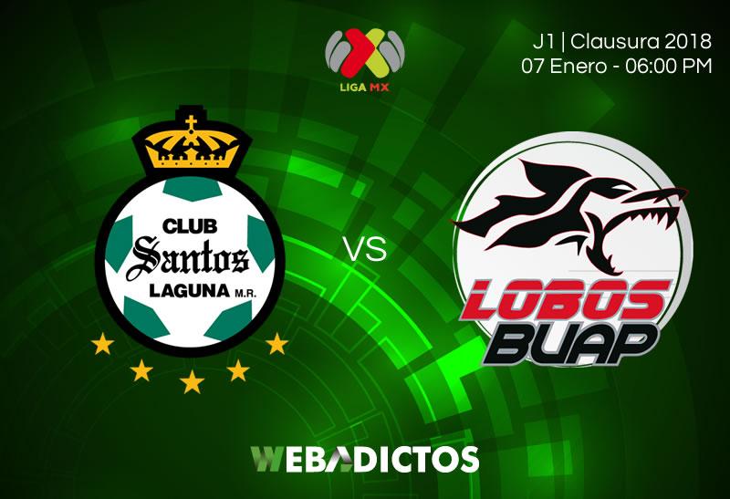 santos vs lobos buap jornada 1 clausura 2018 800x547 Santos vs Lobos BUAP, J1 del Clausura 2018 | Resultado: 4 2