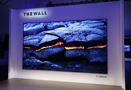 """""""The Wall"""" de Samsung, el primer televisor modular de 146 pulgadas en el mundo"""