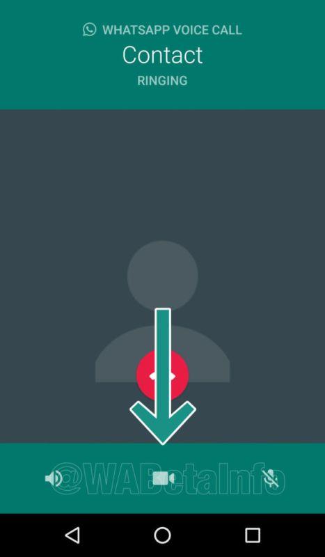 vc androidswitch 467x800 WhatsApp habilita un switch para llamadas en Android