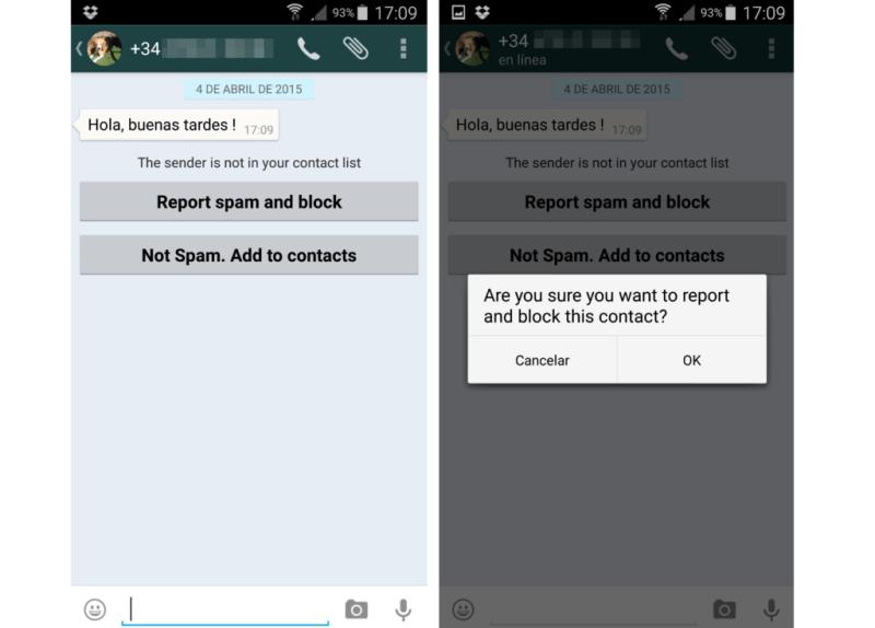 En WhatsApp están estudiando nuevas formas de tratar y prevenir los mensajes Spam - whatsapp-spam