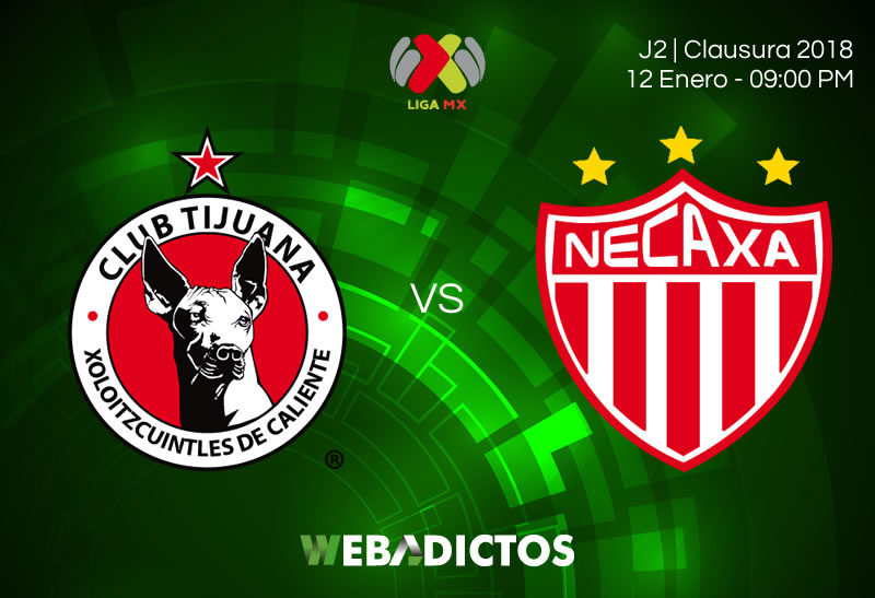 Tijuana vs Necaxa, J2 de la Liga MX C2018 | Resultado: 1-0 - xolos-tijuana-vs-necaxa-jornada-2-clausura-2018-800x547