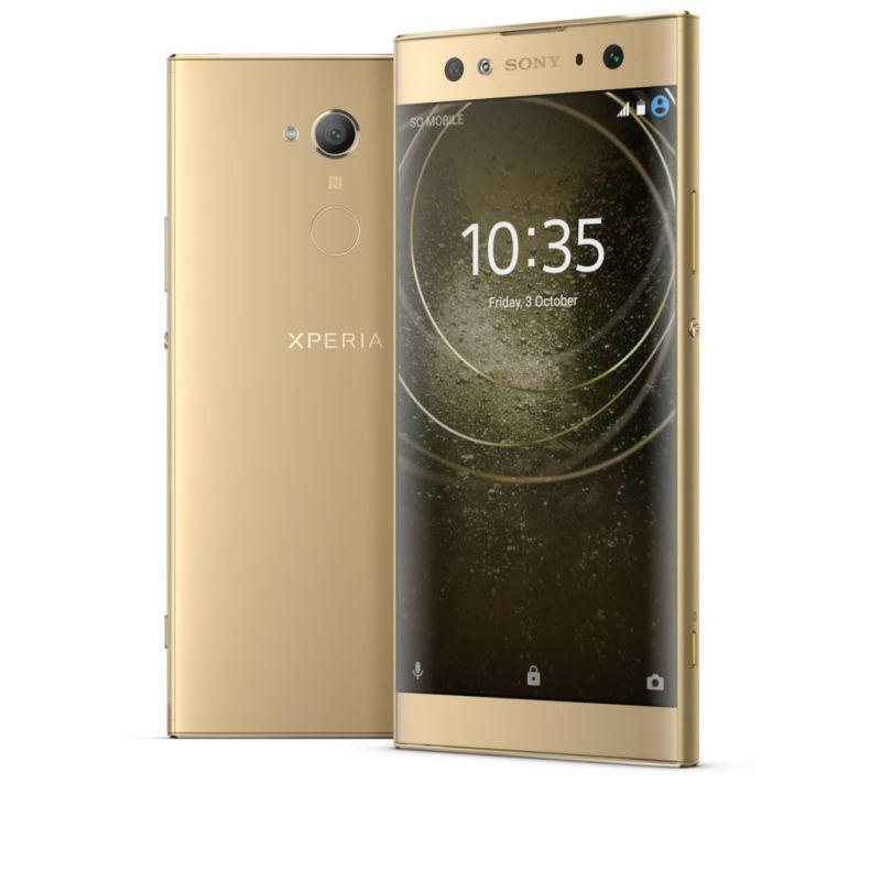 Los Sony Xperia XA2 y L2 son los primeros smartphones para el 2018 de la firma japonesa - xperiax2aultrablue