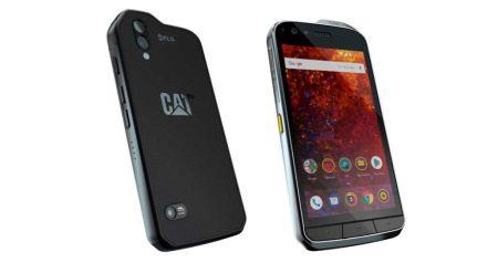 Nuevo teléfono inteligente CAT S61 con herramientas integradas de la industria