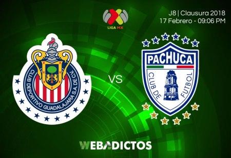 Cómo ver a Chivas vs Pachuca en la Jornada 8 del Clausura 2018