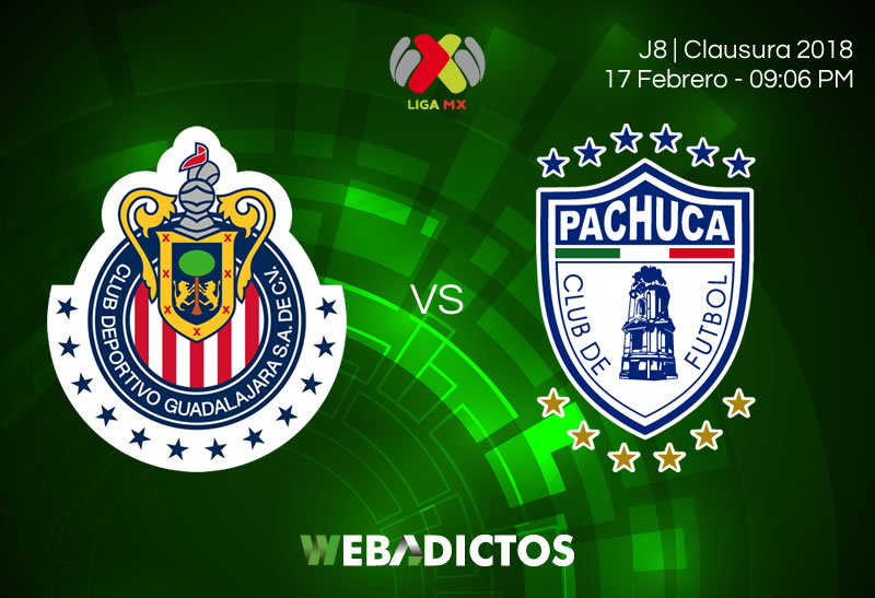 Cómo ver a Chivas vs Pachuca en la Jornada 8 del Clausura 2018 - chivas-vs-pachuca-clausura-2018-j8