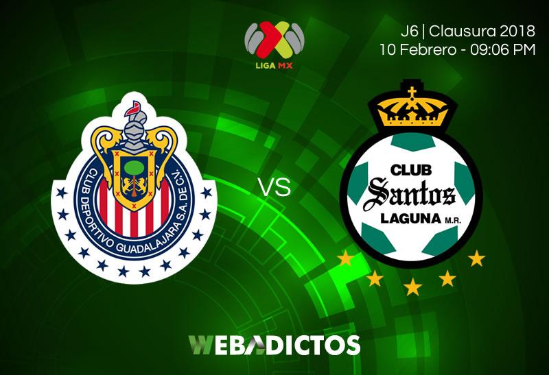 chivas vs santos clausura 2018 j6 Cómo ver a Chivas vs Santos en la Jornada 6 del Clausura 2018