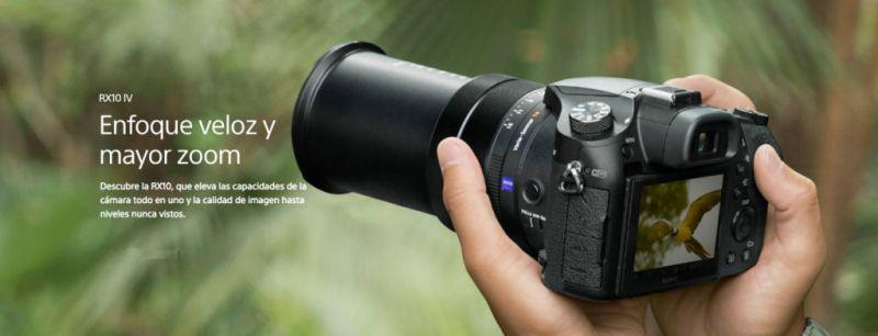Sony presenta en México cuatro nuevas cámaras profesionales - cyber-shot-rx10-iv-800x306