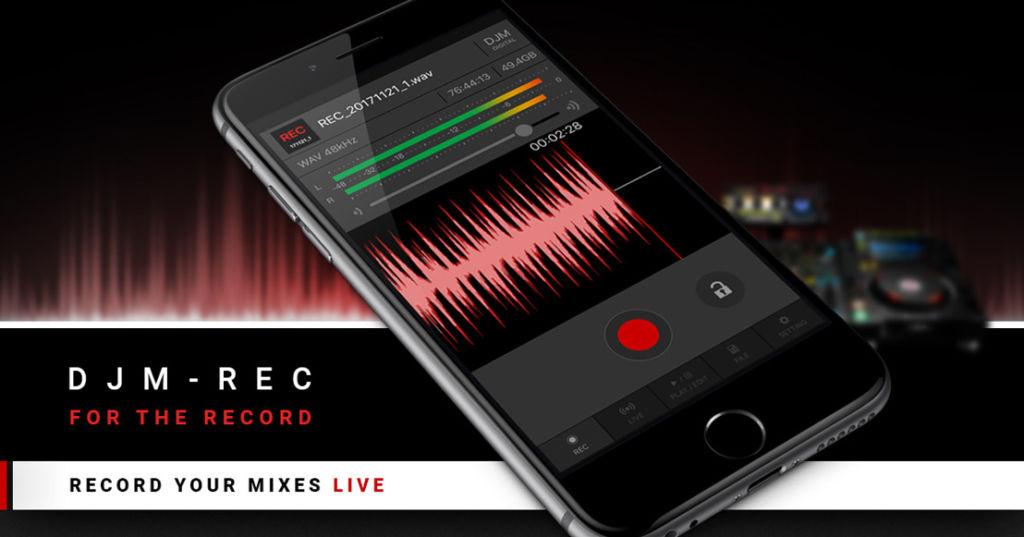 Pioneer anuncia nuevas soluciones para facilitar la labor del DJ moderno - djm-rec