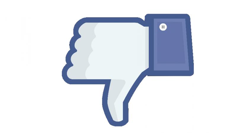 facebook downvote dislike Facebook está probando un botón de marcar comentarios como negativos
