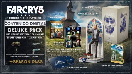 "Ubisoft traerá a México la edición ""Father Collector's Edition"" de Far Cry 5"