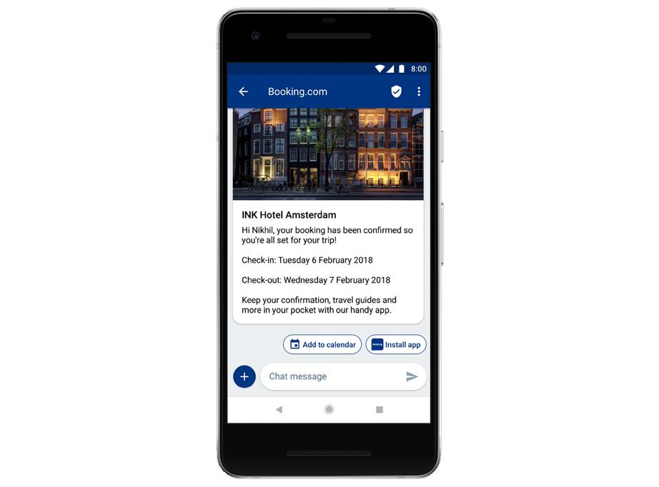 Google se alía con las grandes empresas telefónicas para que los mensajes RCS ayuden a conectar a negocios con sus clientes - google-rcs-android-messages