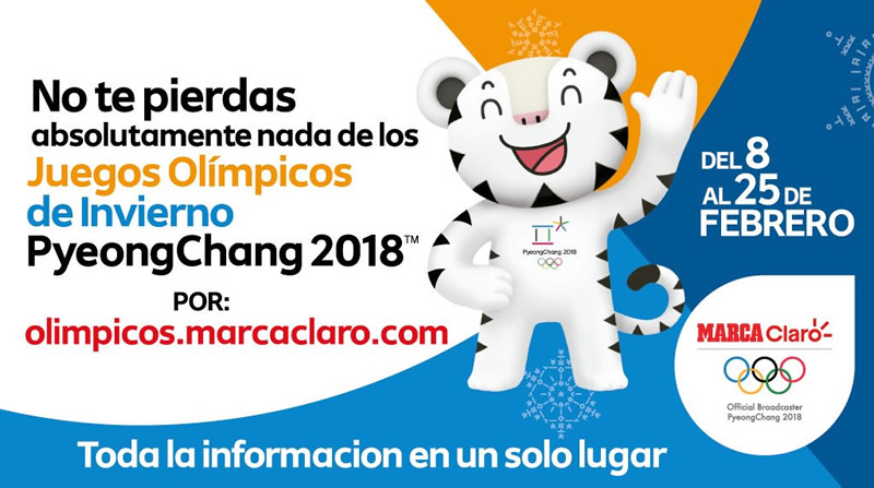 Inauguración de las Olimpiadas de Invierno 2018 por internet este 9 de febrero - inauguracion-olimpiadas-invierno-2018-internet