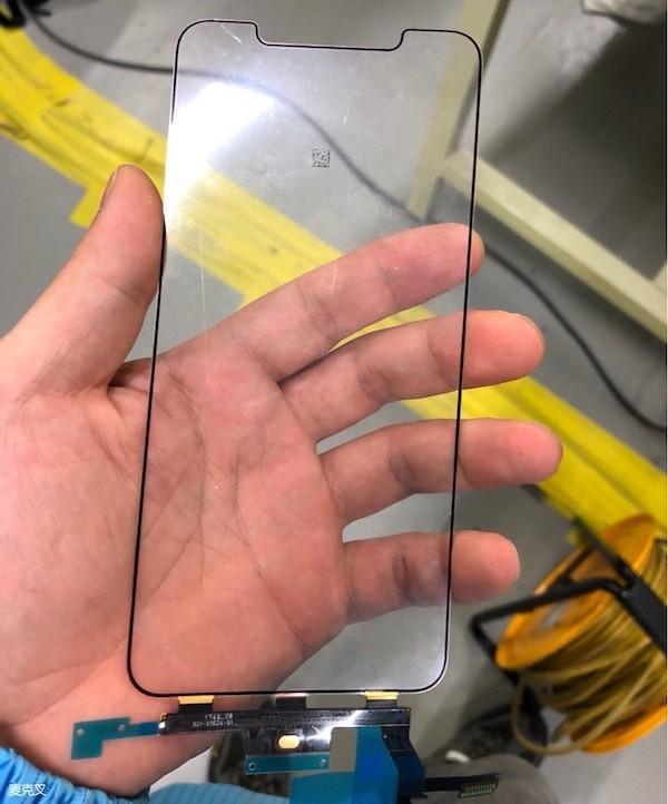 Se filtran algunas partes del iPhone X Plus, modelo que Apple lanzaría este año. - iphxplus-touch-panel
