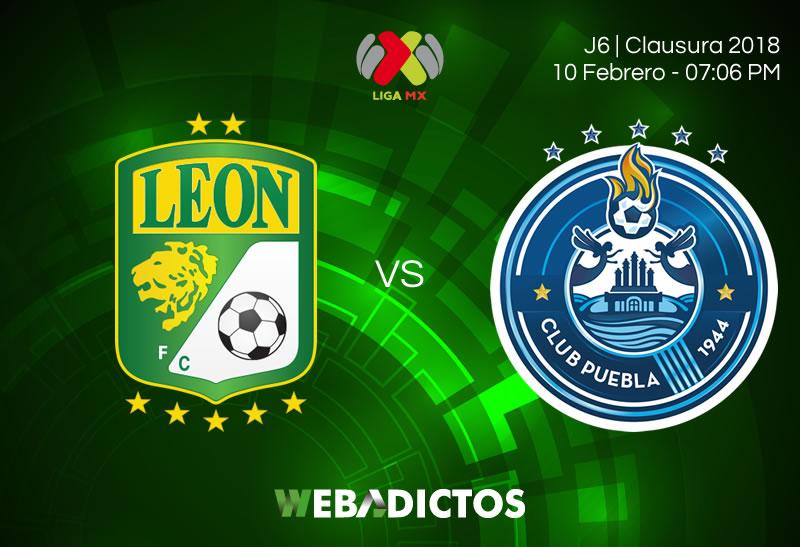 León vs Puebla, Jornada 6 del Clausura 2018 | Resultado: 2-1 - leon-vs-puebla-clausura-2018-j6