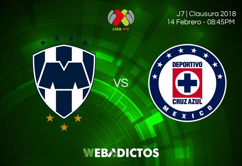 A qué hora y cómo ver a Monterrey vs Cruz Azul en la Jornada 7 C2018 - monterrey-vs-cruz-azul-clausura-2018-j7