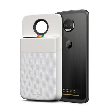 Polaroid Insta-Share Printer, nuevo Moto Mod ¡Ya disponible en México! - motomods_polaroid_frontback_motoz2force