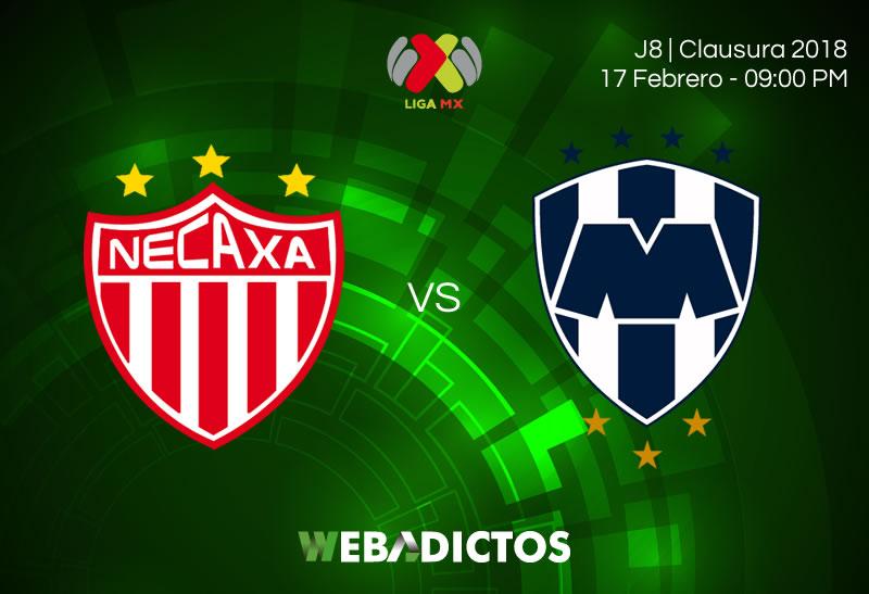 Necaxa vs Monterrey: Cómo ver el partido de la J8 Clausura 2018 - necaxa-vs-monterrey-clausura-2018-j8
