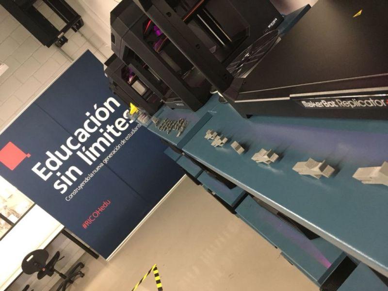 """Inauguran el primer """"Centro de Impresión 3D"""" en Latinoamérica - primer-centro-de-impresion-3d-en-latinoamerica-ricoh-mexicana-cetys-tijuana-800x600"""