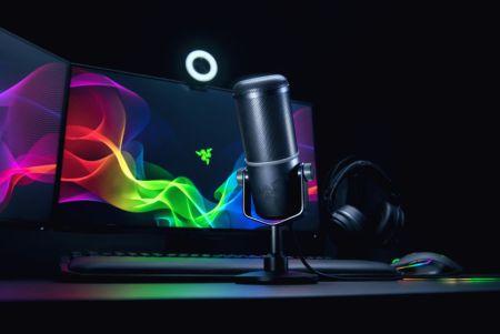 Razer Seiren Elite, nuevo micrófono profesional para streaming
