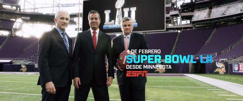 Super Bowl 2018 en vivo por ESPN este 4 de febrero - super-bowl-52-espn