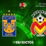 Transmisión de Tigres vs Morelia el 24 de febrero ¡En vivo!