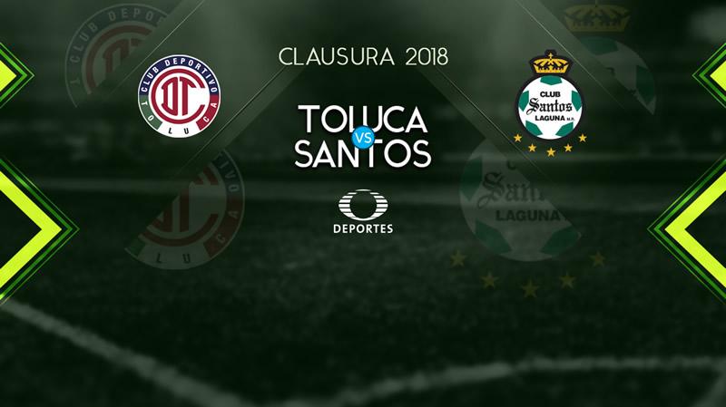 toluca vs santos j8 clausura 2018 Toluca vs Santos, Jornada 8 de Liga MX C2018 ¡En vivo por internet!