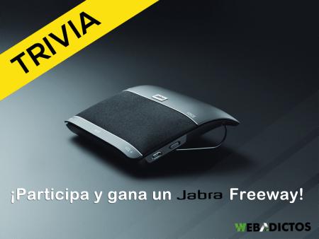 TRIVIA: Participa y ¡Gana un Jabra Freeway!