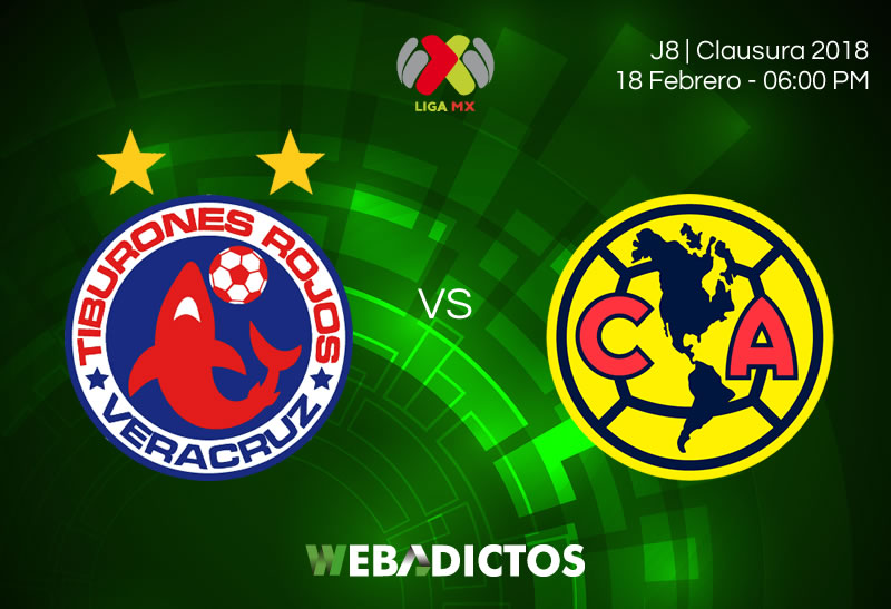 Veracruz vs América, Jornada 8 Liga MX C2018 ¡En vivo por internet! - veracruz-vs-america-clausura-2018-j8