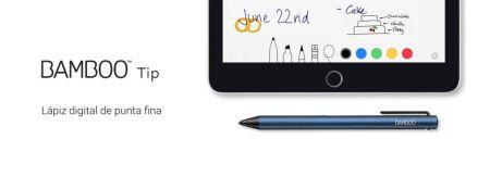 Wacom presenta su nuevo lápiz digital de punta fina: Bamboo Tip