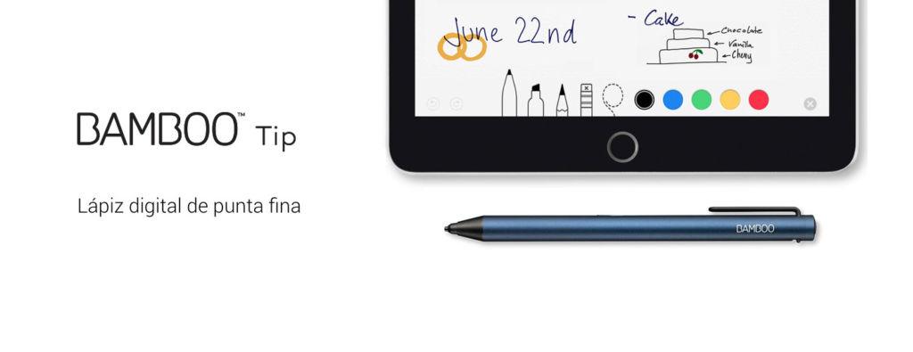 wacom bamboo tip Wacom presenta su nuevo lápiz digital de punta fina: Bamboo Tip