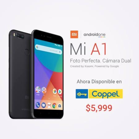 Mi A1 de Xiaomi con Android One ¡llega a Coppel!