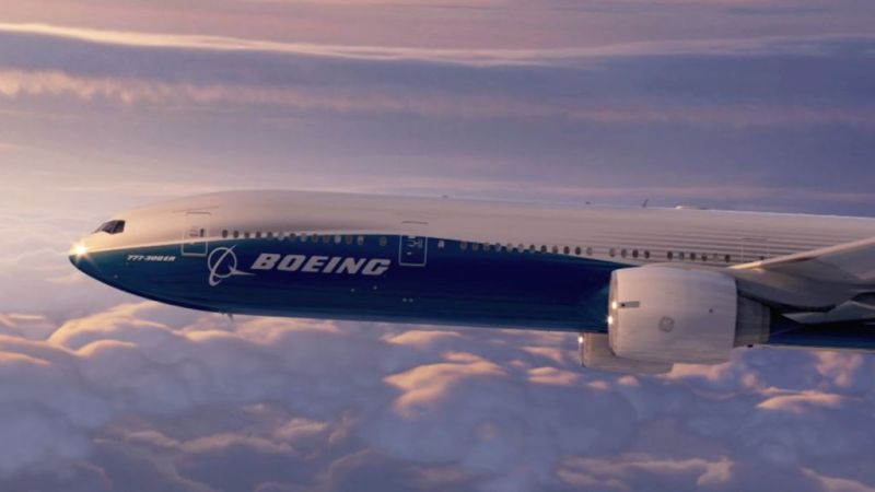WannaCry reaparece y ataca a equipos de Boeing, el fabricante de aviones - boeing-777
